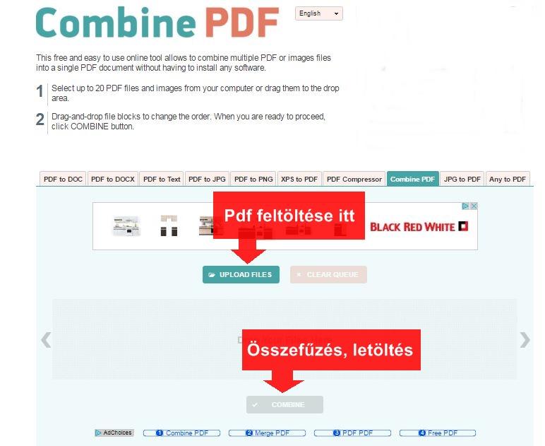 pdf összefűzés